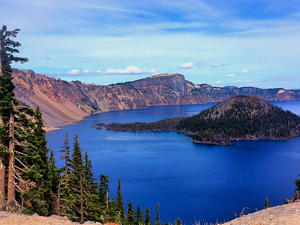 Seven Wonders Of Oregon Crater Lake National Park