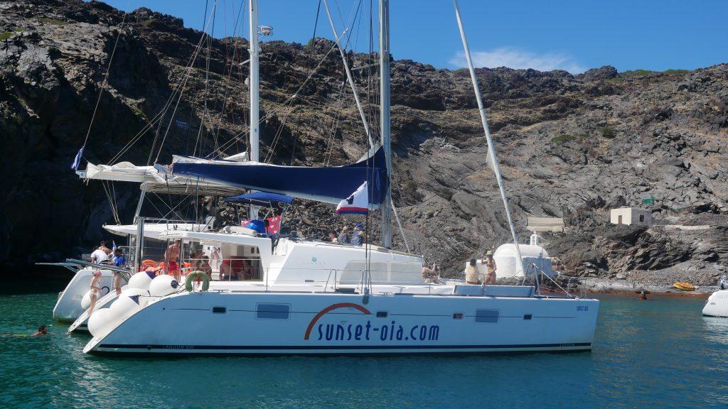 Sailing Santorini With Sunset Oia Tours